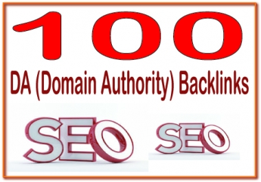 Rank on Google Alexa by exclusive manually 100+ DA (Domain Authority)  Backlinks