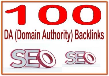 Rank on Google Alexa by exclusive manually 100+ DA (Domain Authority)  Backlinks