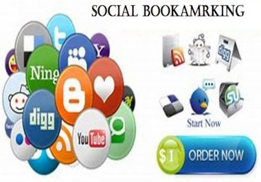 Instant 50 (DA 40 - DA 100) Social Bookmarking Live Links | Manual Submission