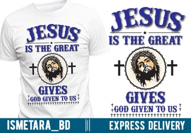 make custom christian tshirt design