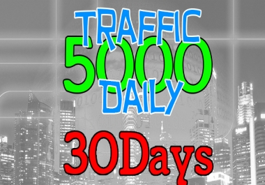5000 Daily Visitors to your Website
