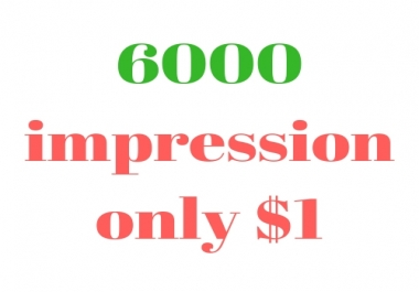 Instant Professional Social Media post Promotion through 6000 impressions