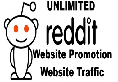 Unlimited Reddit Website Traffic Visitors Reddit Promotion Service Sends Hordes of Reddit Traffic!