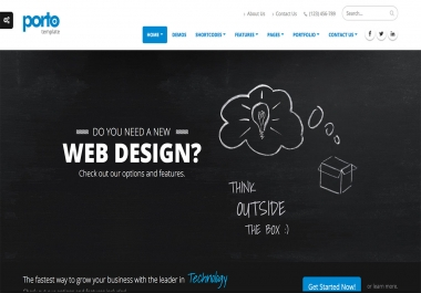 I will create custom responsive HTML website designs