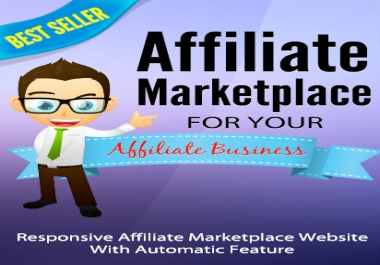 Promo Price!!! Affiliate Marketplace WP Theme