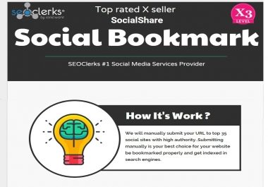 Manually Top 35 High Authority Sites Social Bookmarking Backlinks Help To Google ranking