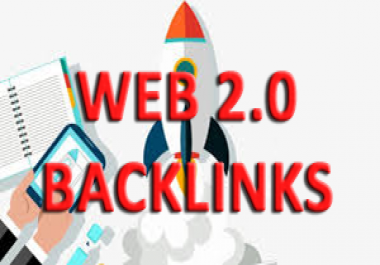 Top 1 in Google Rank With Web 2.0 High DA SEO Backlinks to Your Website