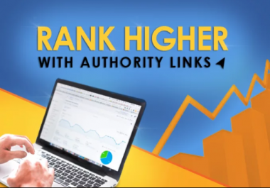 Manual DA 90+ High Authority Backlinks Building - Rank #1