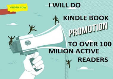 Do excellent  Kindle book Promotion and Ebook marketing
