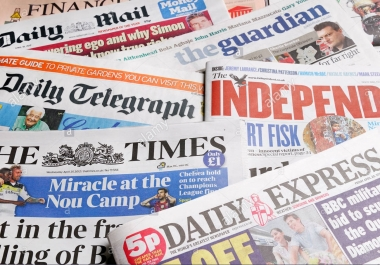 Gain 20 Do-follow Links From United Kingdom Editorial Newspapers