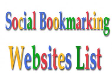 50 social Bookmarking site list