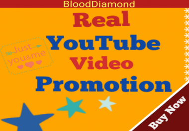 Guaranteed 35+ Youtube promotion Fast Non Drop