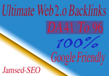 Create 45 High Da Pa Web2,0 Blogs For Your Website