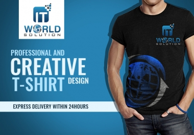 Create Professional And Creative Tshirt Design