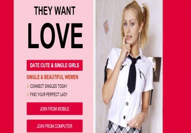 Create High Converting Landing Pages For Dating Affiliate Marketing
