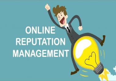 Online Reputation Management / Reputation Management