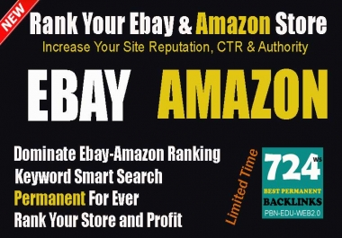 Rank Your Shopping Site (Ebay, Amazon) By My New Organic Traffic Visits Search Service