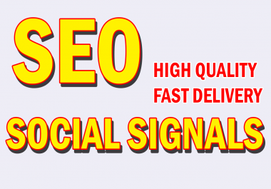 Build Supper Fast 3303+ Powerful SEO Social Signals High Quality From Authority Site PR 3-6 Hours