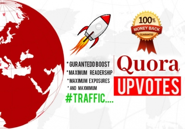 guaranteed rank BOOSTING Quora uvotes