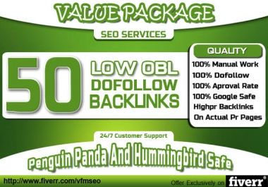 50 SEO blog comments backlinks pr2 to pr5