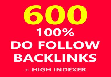 High Authority 600 Dofollow backlink rank for google