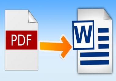 page typing per page pdf and image to word