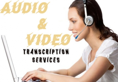 Do ACCURATE Video and Audio Transcription of Up To 10 mins and More