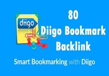 Diigo High Quality 50 Bookmark backlink PR8-9 Google 1