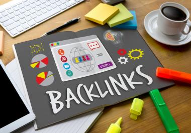 Get 50 PREMIUM Backlinks DA 50-100 Unique Domain/IP