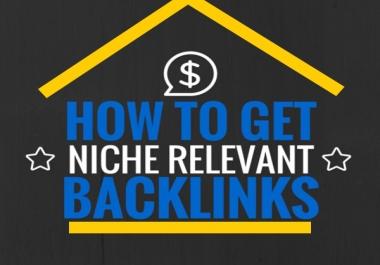 Create 80 Niche Relevant Blog Comments