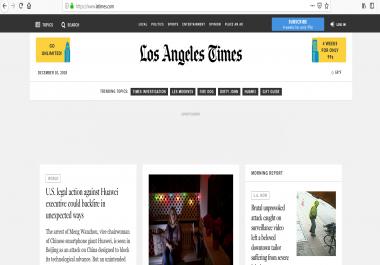 guest post on Los Angeles Times Latimes Latimes.com DA94