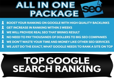 Boost Your Site Into TOP Google Search Rankings with High PR Quality Backlink