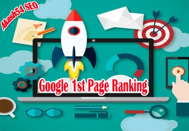 Seo Top Google 1st Page Ranking With 1st Position On Your Website Best Result 2019