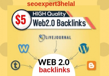 Build 50 super web 2 0 blogs with unique articles, Contextual Backlinks