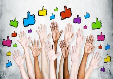 50,000 Social Signals White Hat SEO Backlinks Rank on TOP 3 Social Media