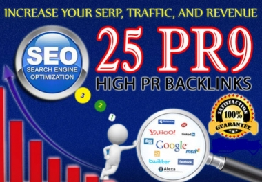 80+ DA PA 25 Pr9 High Authority Backlinks For Google Ranking