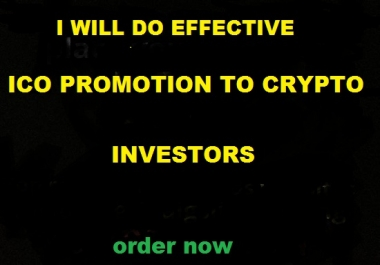 do viral ico promotion and token marketing