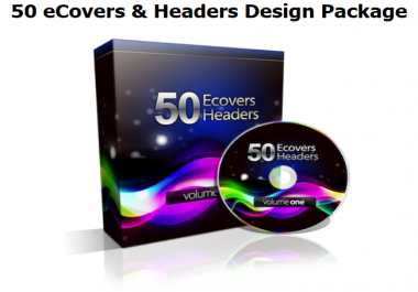 I will Give You 50 Professionally Designed eBook Covers