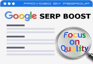 SERP CTR Boost (Google Keyword Boost)