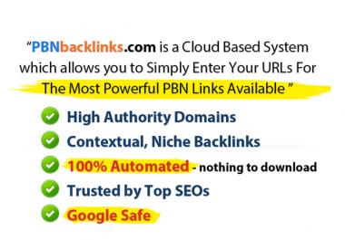 Build 10 High PR PA DA TF CF 15+ to 50, PBN Backlinks - Homepage Quality Links