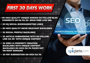 Provide White Hat SEO Monthly Package
