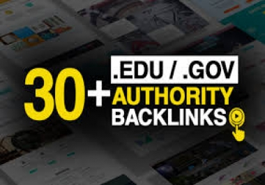 15 Pr9+15 Edu And Gov High Pr SEO Authority Backlinks - Fire Your Site Google Ranking