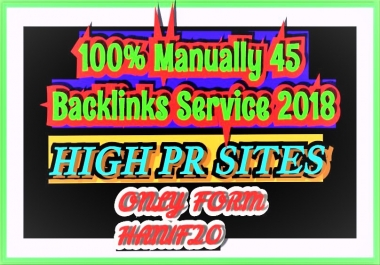 45 social backlinks for your sites