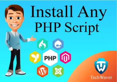 Install Any PHP Script on your Host within 1-4 hours
