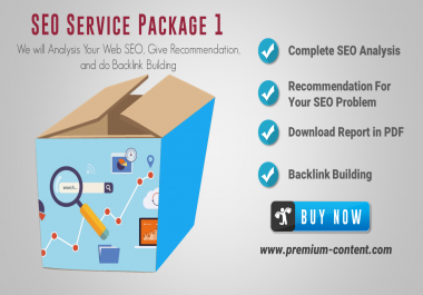 Deep SEO Analysis SEO Service Excellent Package 1