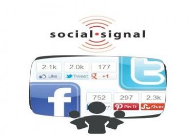 8,000 Powerful Seo Social Signals From Top Social Media Websites From PR9 SEO Ranking