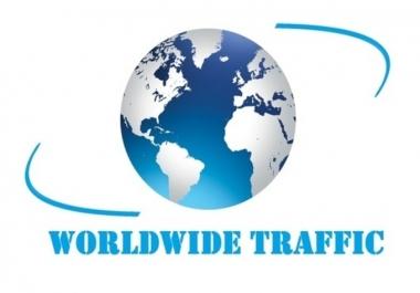 real 2 Million Worldwide Traffic Website for