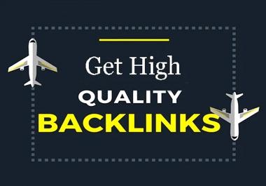 High Authority Lifetime Backlinks With High Da Pa