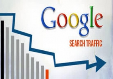 send you google search engine traffic to your targeted keywords for 30 days