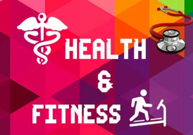FIVE Health and Wellness Guest Posts- High Quality, NO PBN, Genuine Blog Outreach